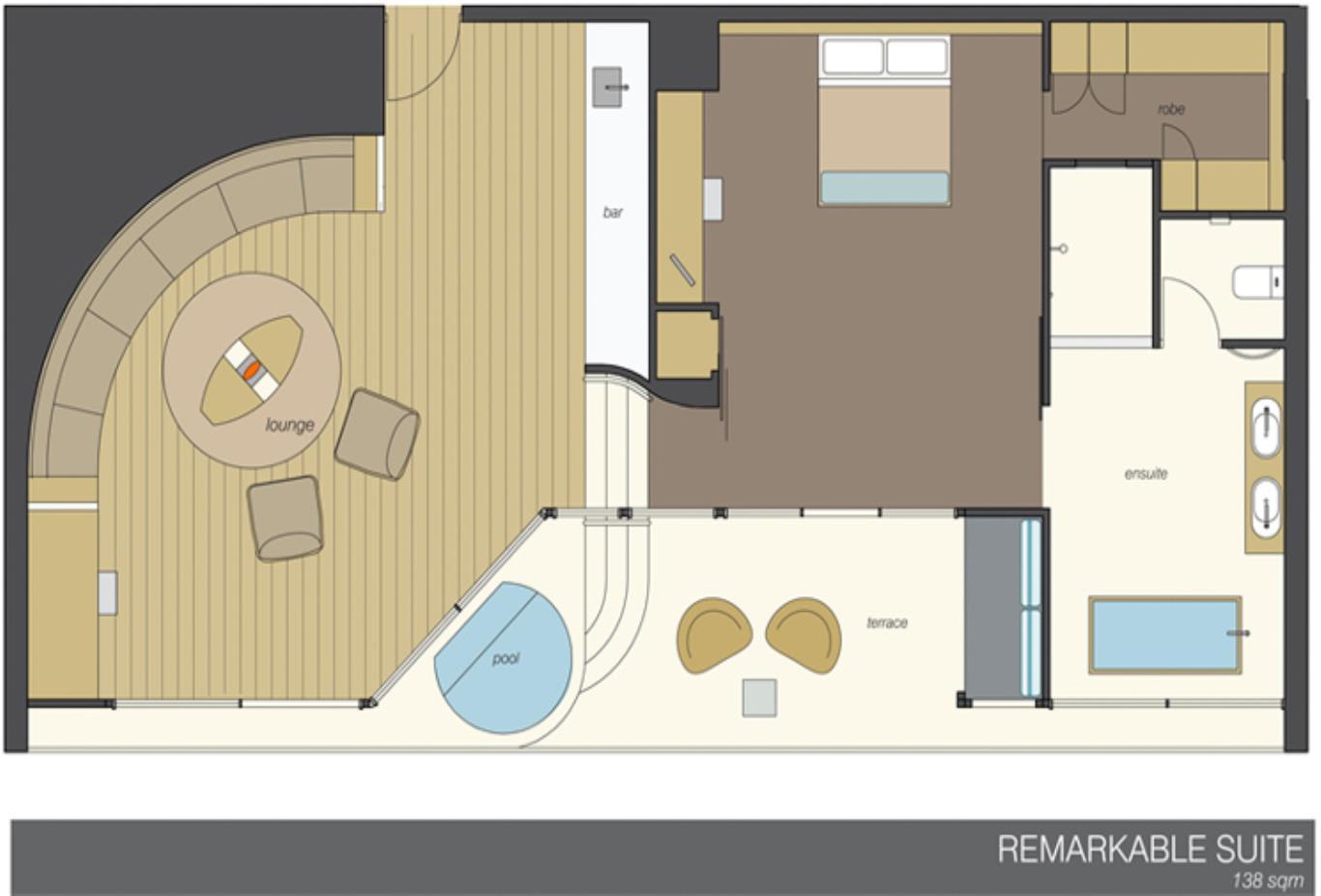 Remarkable Suite floor plan
