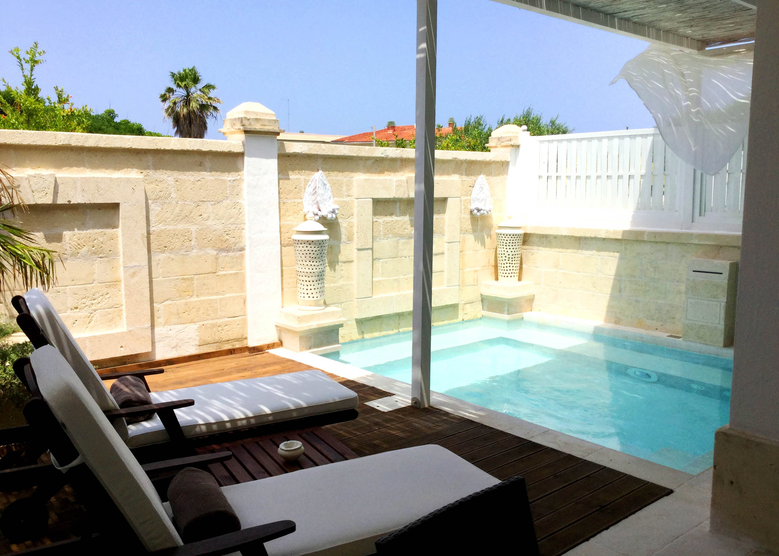 Canne Bianche Master Suite Pool