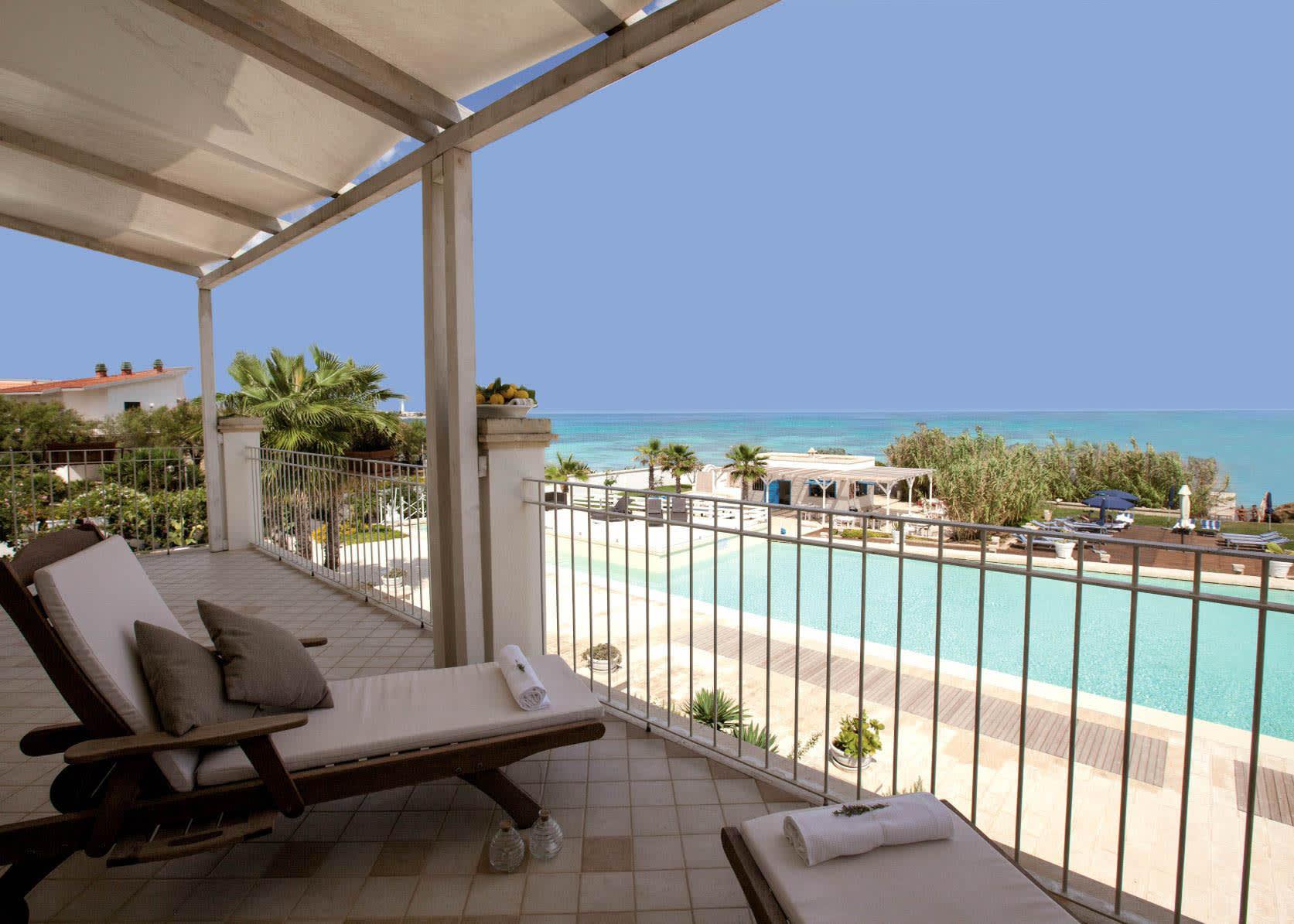 Junior Suite Frontal Sea View