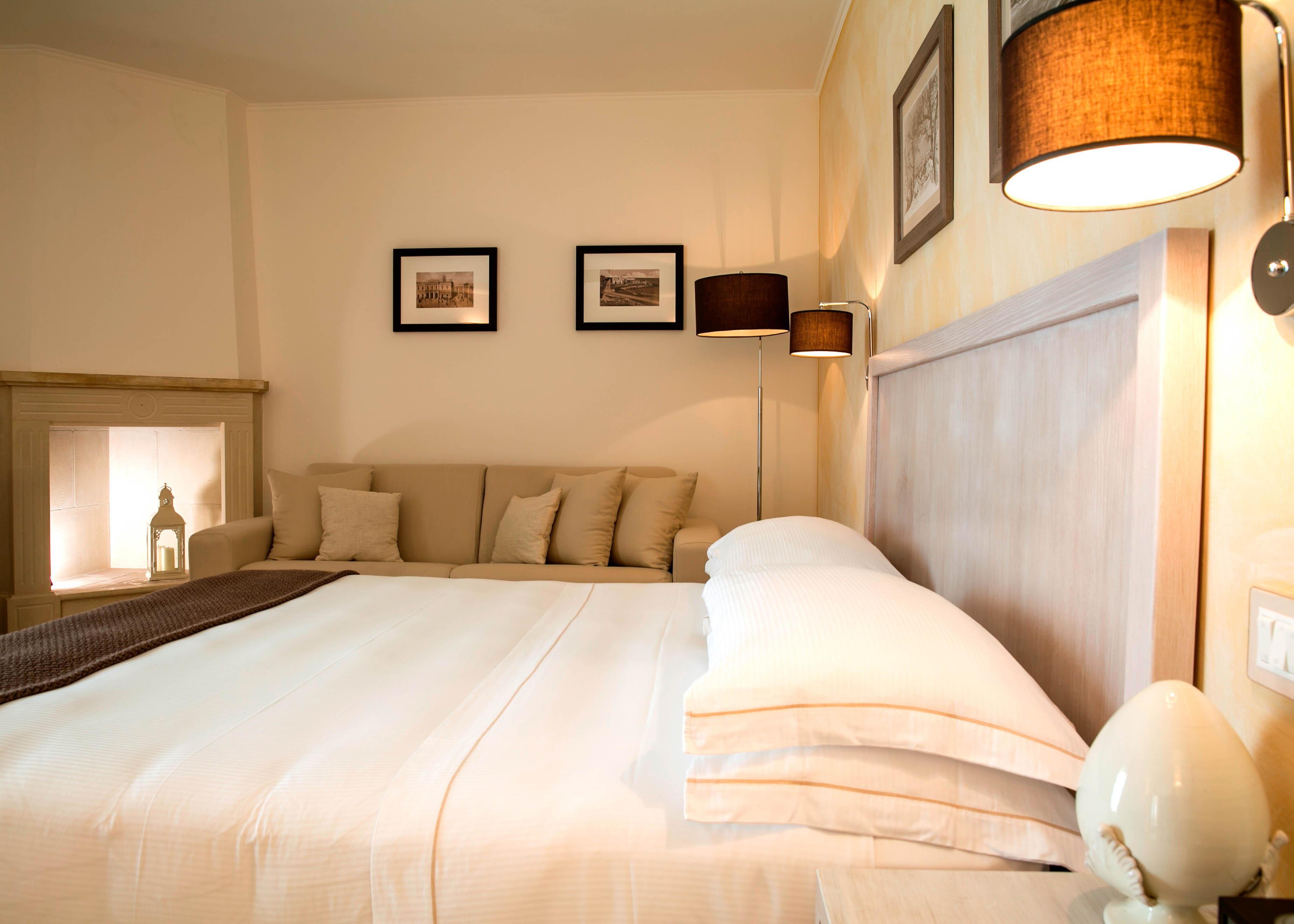 Junior Suite Frontal Sea View bedroom