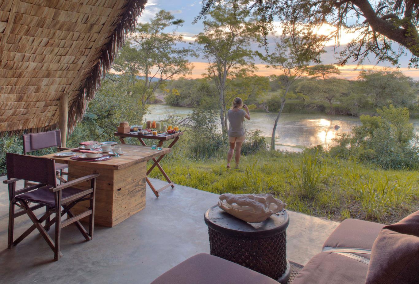 Riverside Private Tent