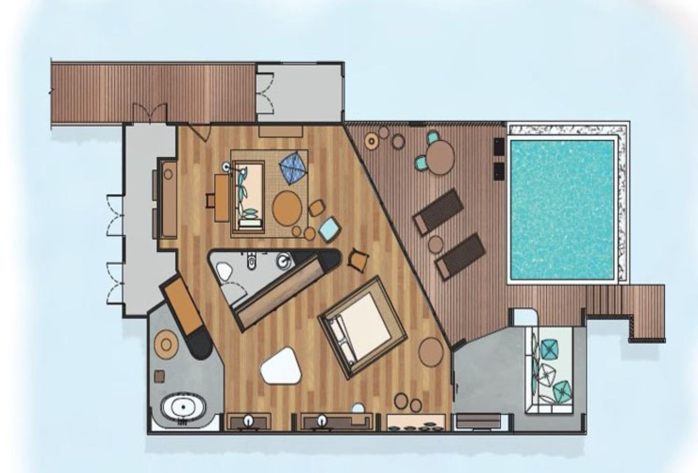 Ocean Reef House floorplan