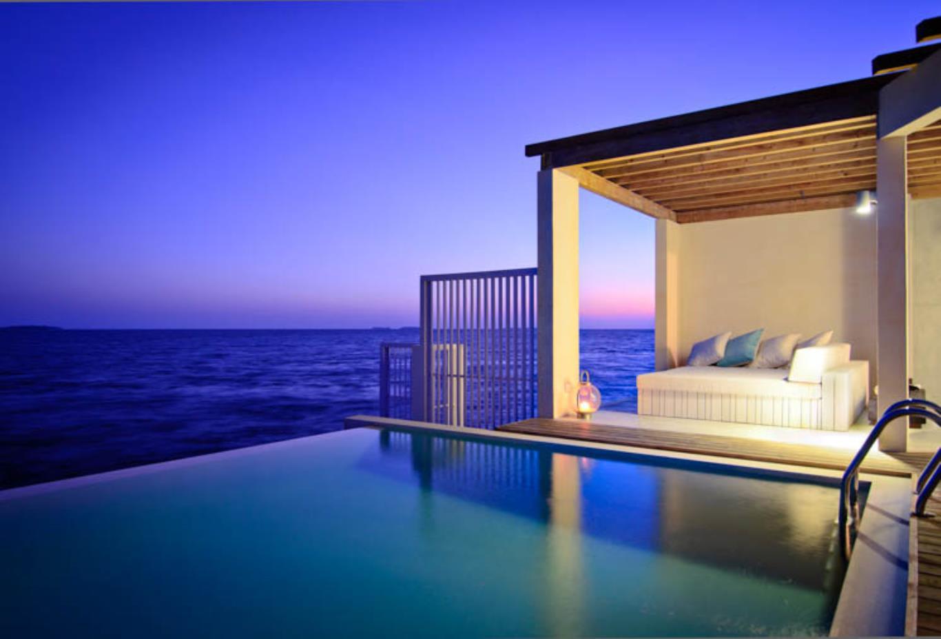 Ocean House Pool Evening