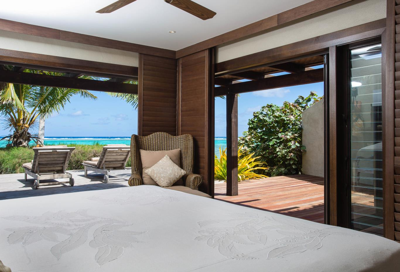 Presidential Beachfront Villa Bedroom