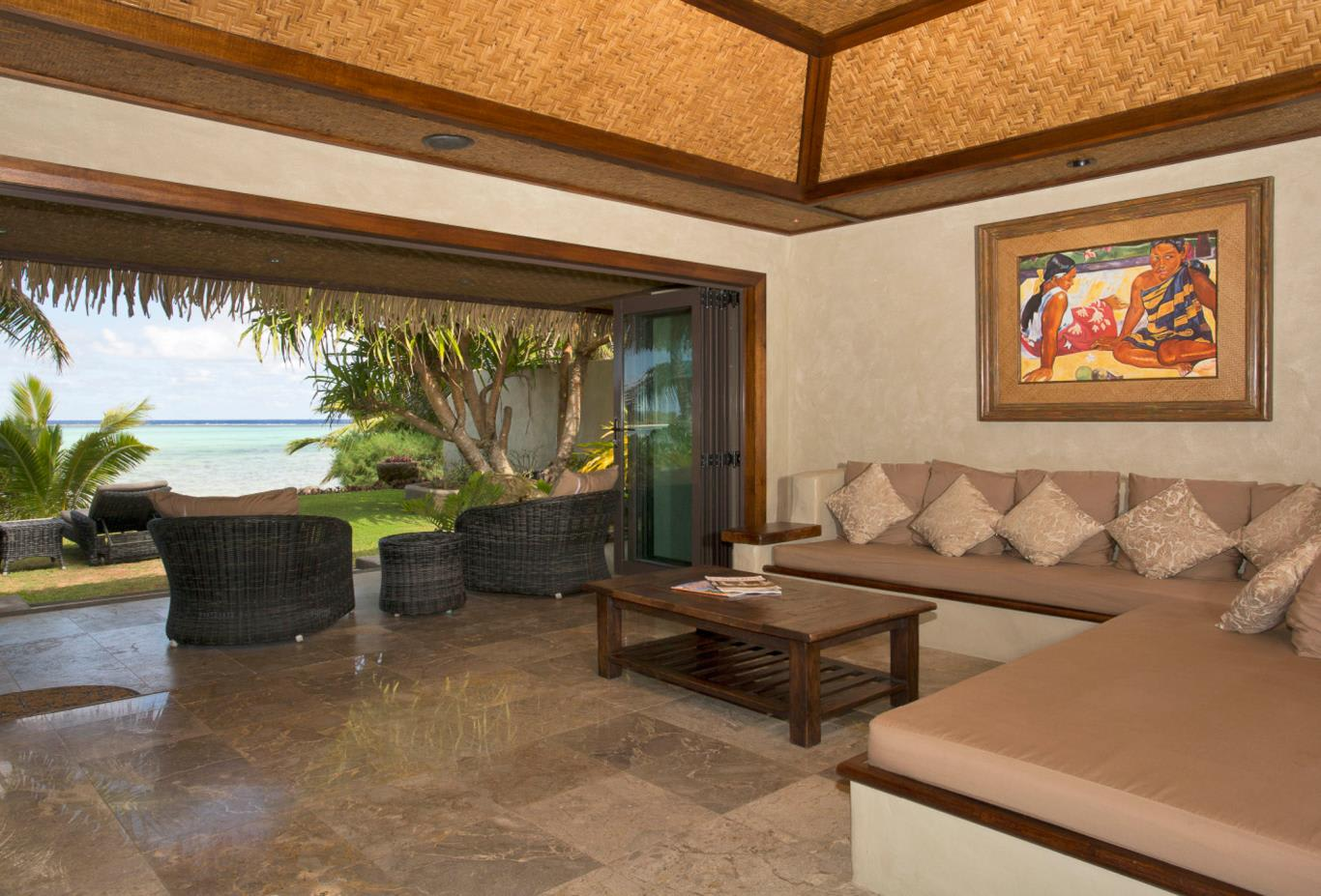 Ultimate Beachfront Villa Interior
