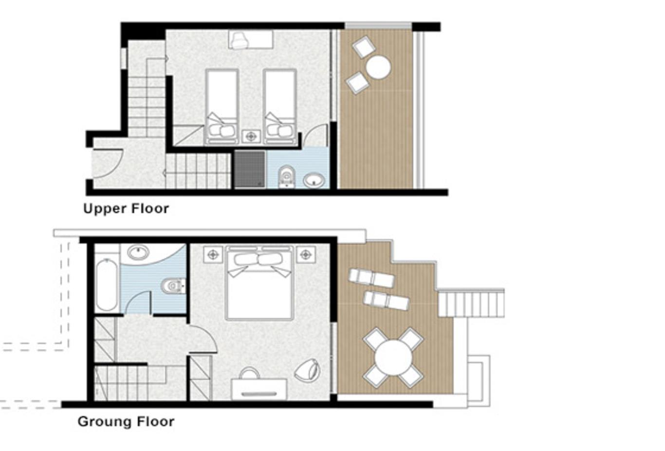 Floorplan family-maisonette