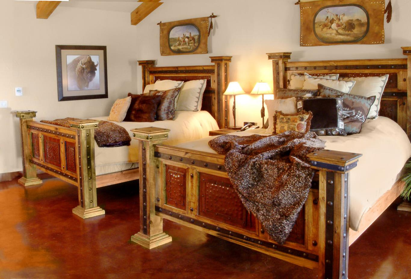 Cabin Suite beds