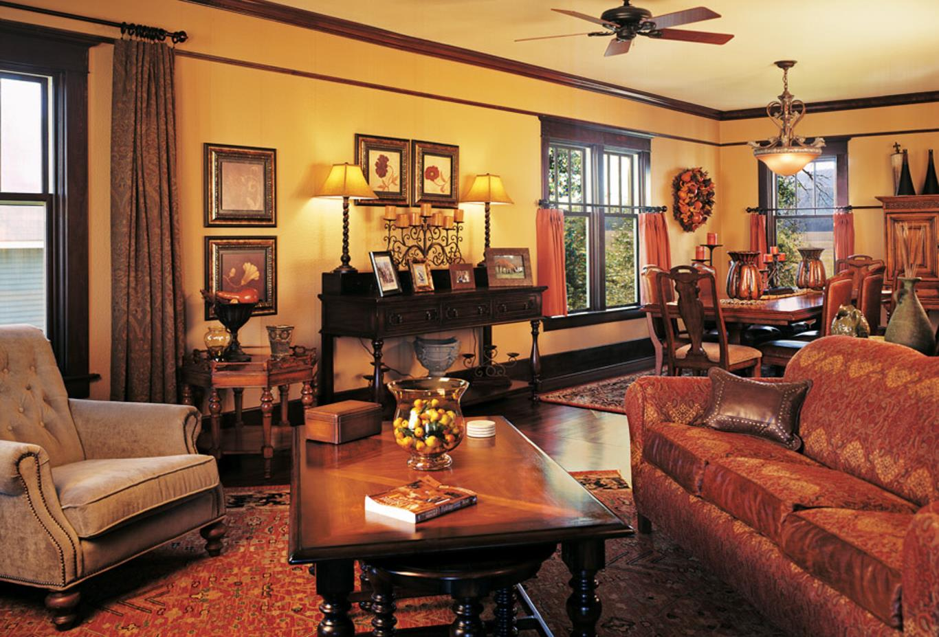The Morris Ranch House - Living Room