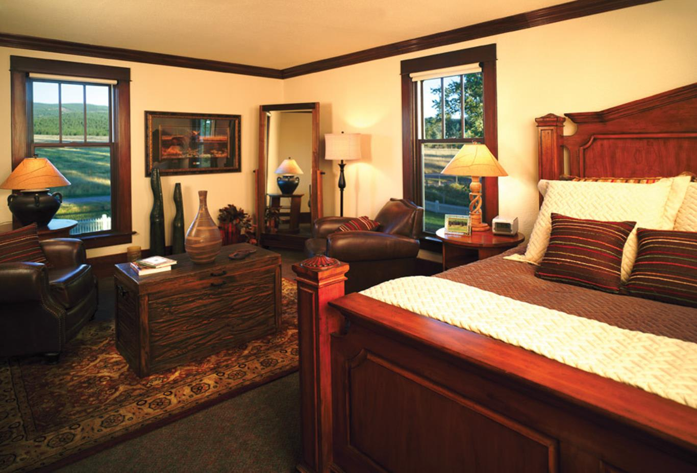 The Morris Ranch House - Master Bedroom