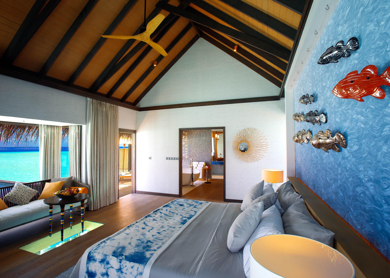 Wind villa bedroom