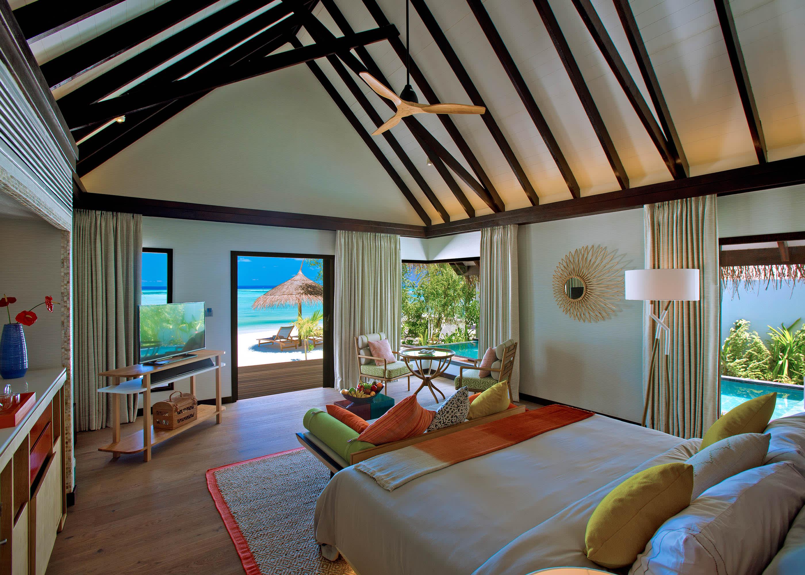 Earth villa view