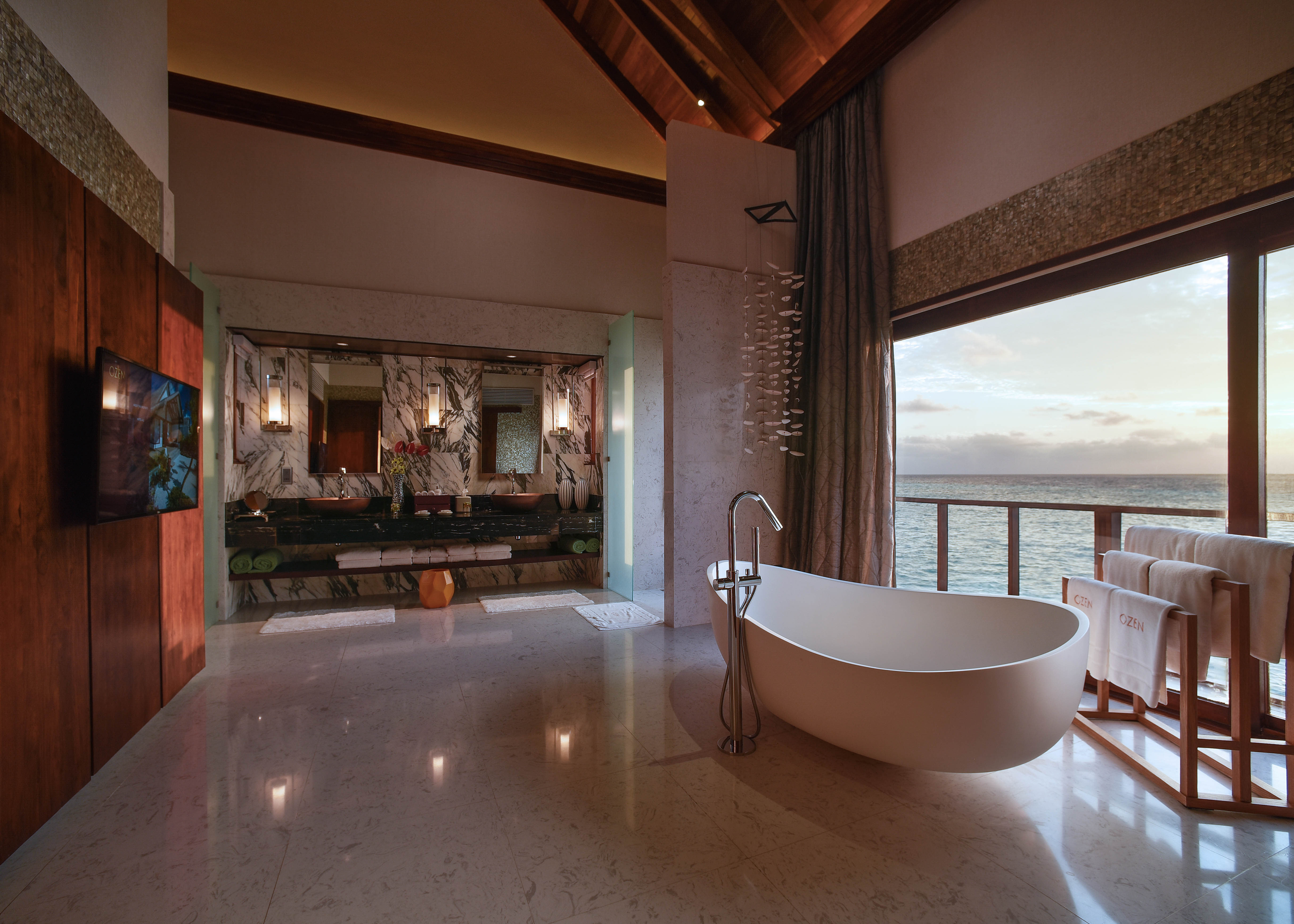 Ozen Water Suite bathroom