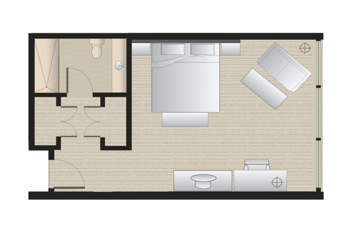 Executive king floorplan
