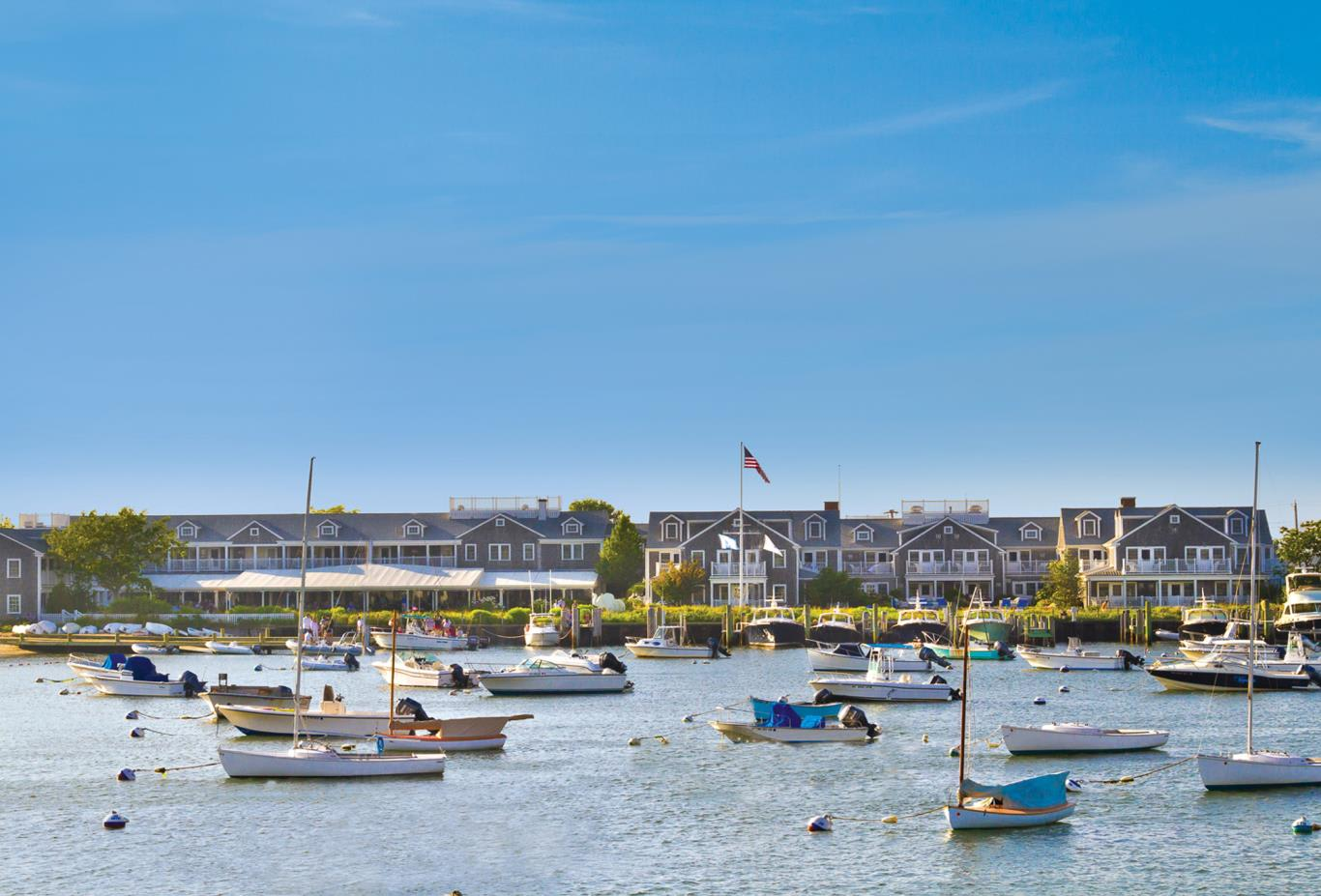 Exterior from Nantucket Harbor
