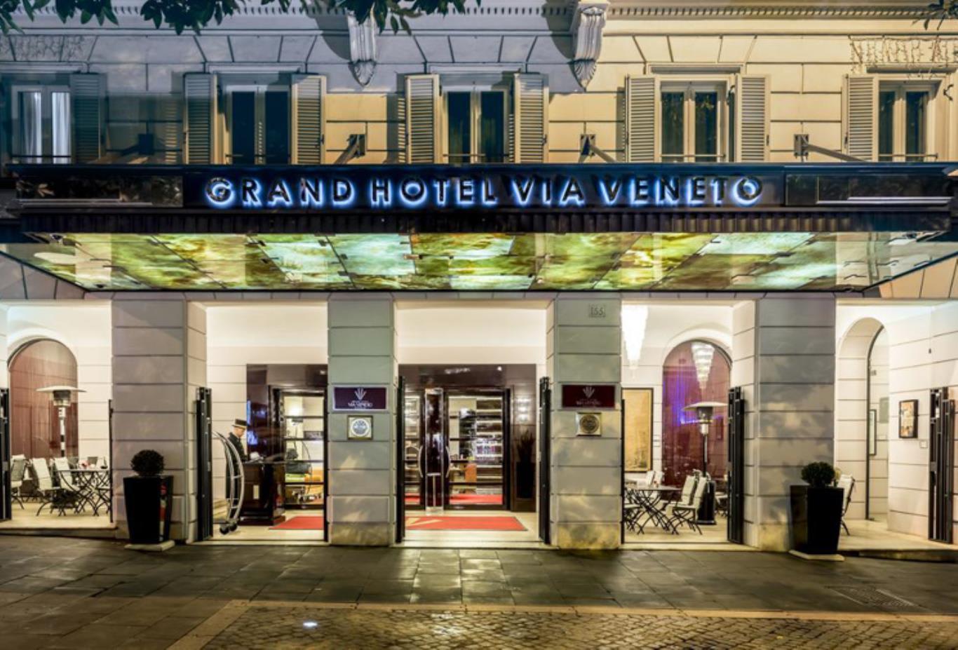 Grand Hotel Via Veneto exterior