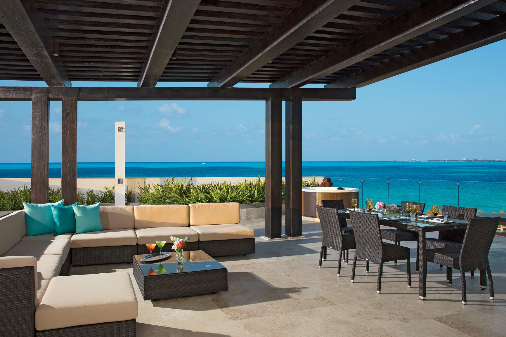 Preferred Club Family Presidential Suite Ocean View