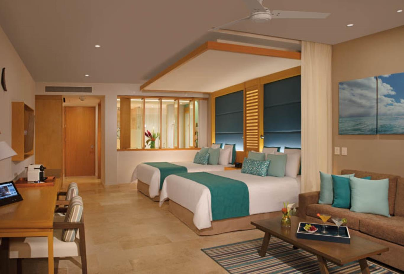 Preferred Club Junior Suite Ocean View interior
