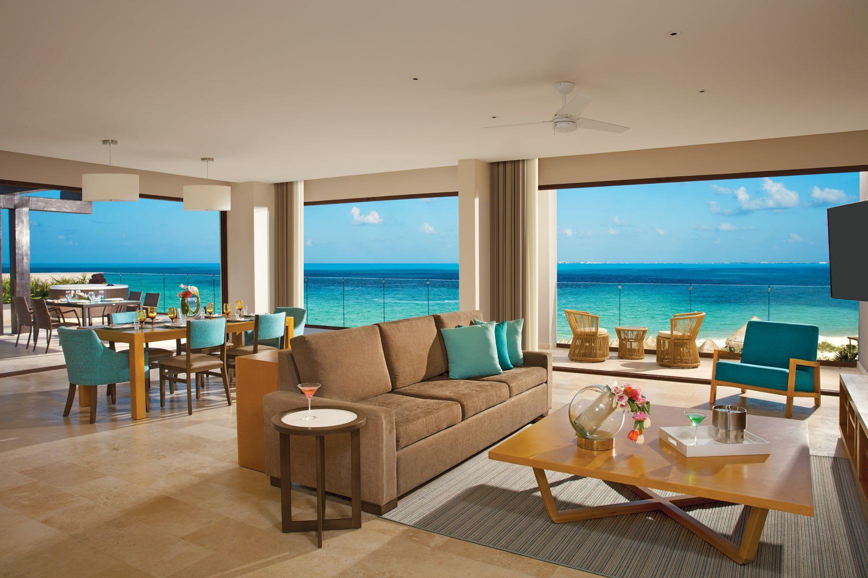Preferred Club Family Presidential Suite Ocean View