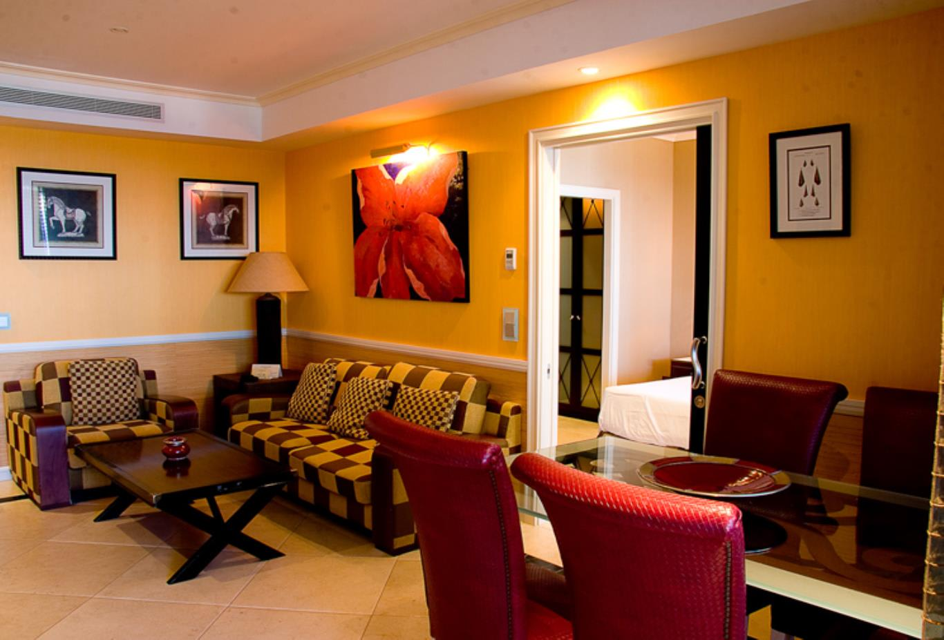 Junior Suite lounge
