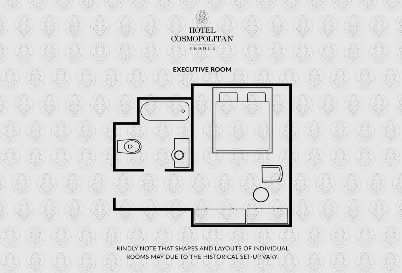 Rooms Executive Room Floorplan