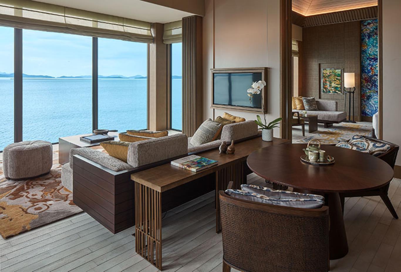 Ocean Front living area