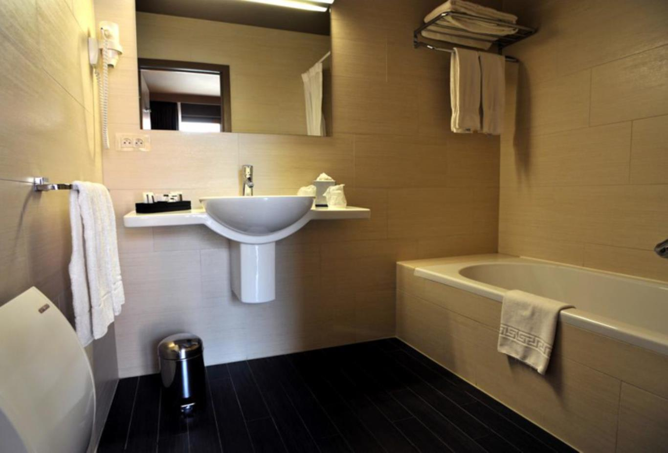 Club Double or Twin Room bathroom