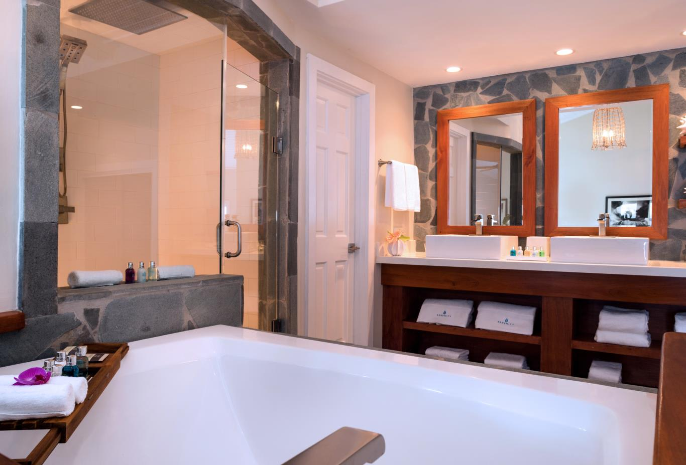 Plunge Pool Butler Suite bathroom