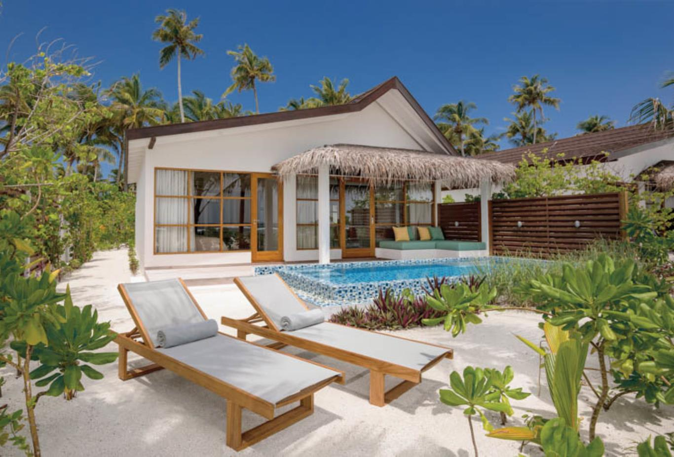 Beach Family Suites with Pool exterior view
