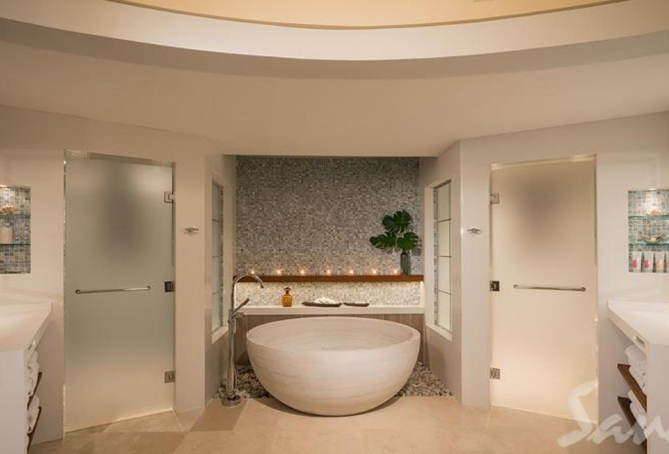 RPP South Seas Royal Rondoval Butler Suite with Private Pool Sanctuary bathroom