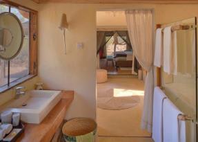 Tented Villa bathroom