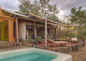 Tented Villa pool