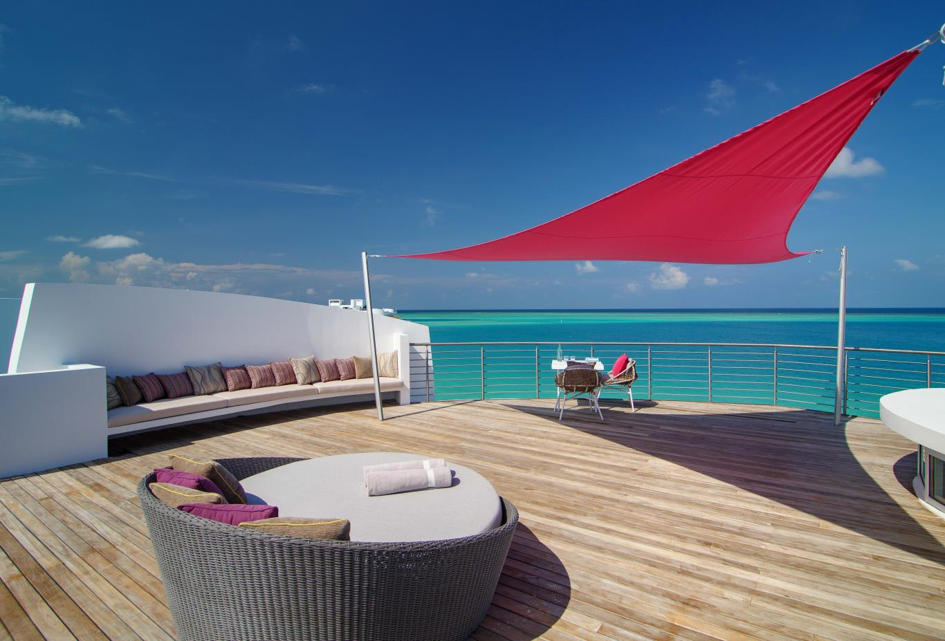 Water Villa top deck