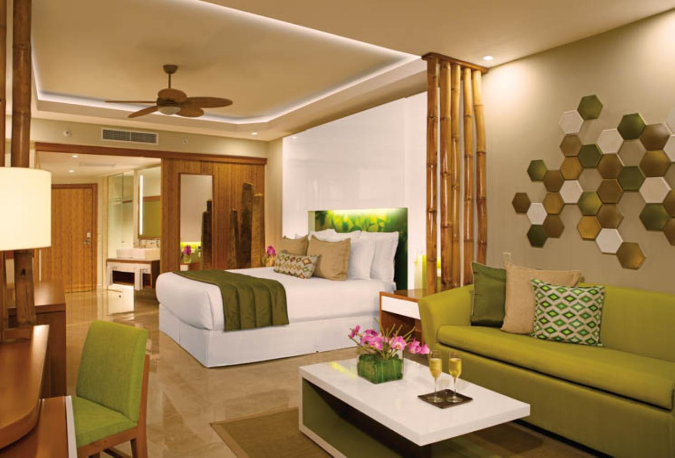 All Junior Suite & Preferred Club Junior Suite rooms