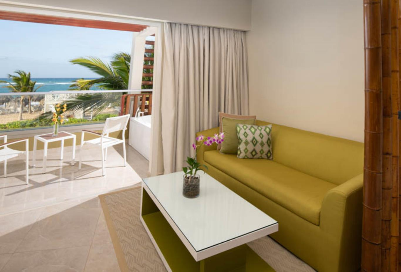 Preferred Club Junior Suite ocean view terrace