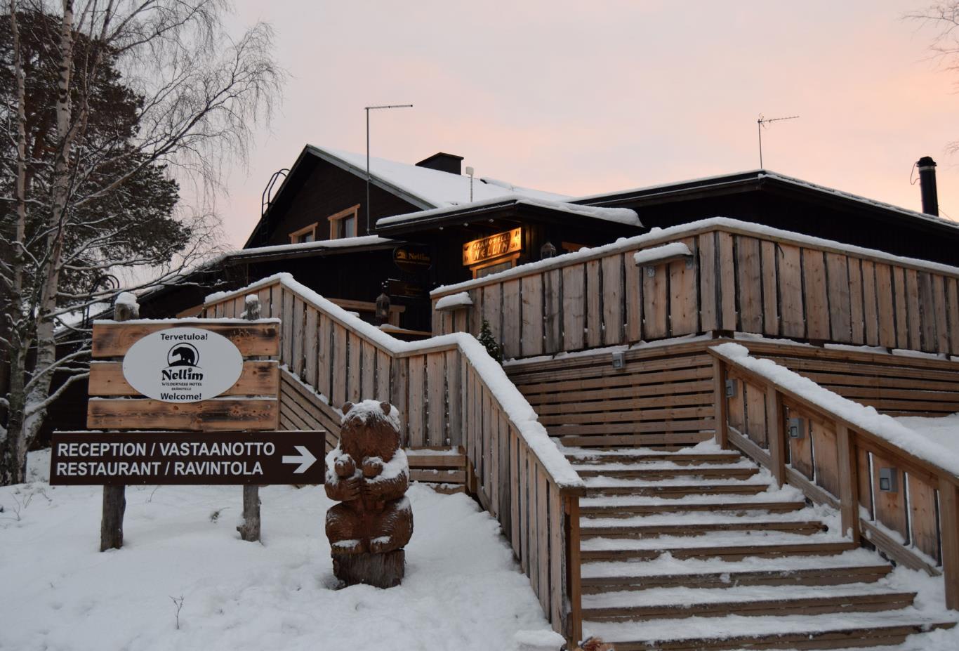 Nellim-Wilderness--Hotel-entrance