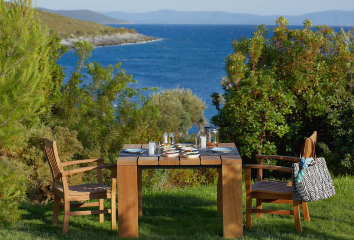 Mezze by the Sea and views