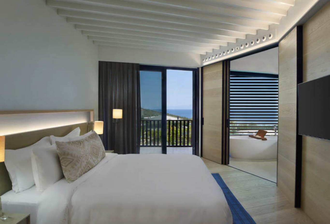Seaview Superior Room bedroom