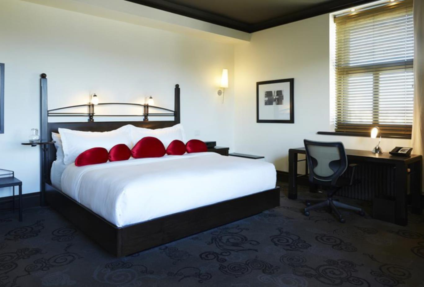 The Signature Room bed