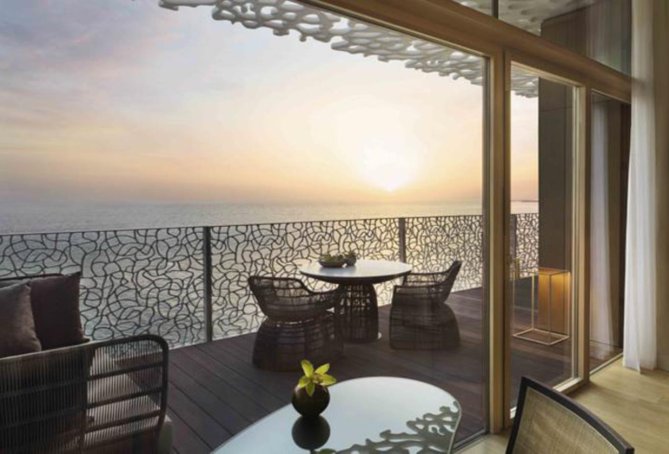 Premium Ocean View Room balcony