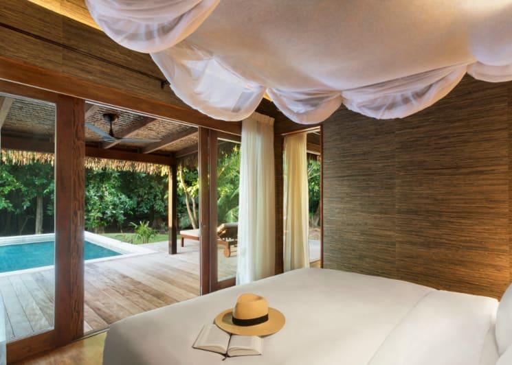 Hideaway Pool Villa Suite Bedroom