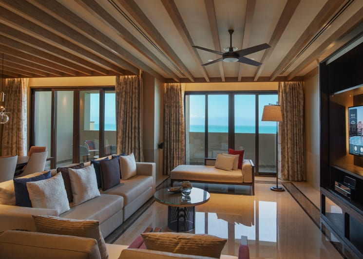 Saadiyat Suite Living Rom 2