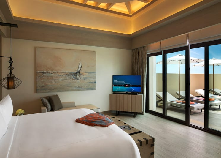 Beachfront Villa Master Bedroom