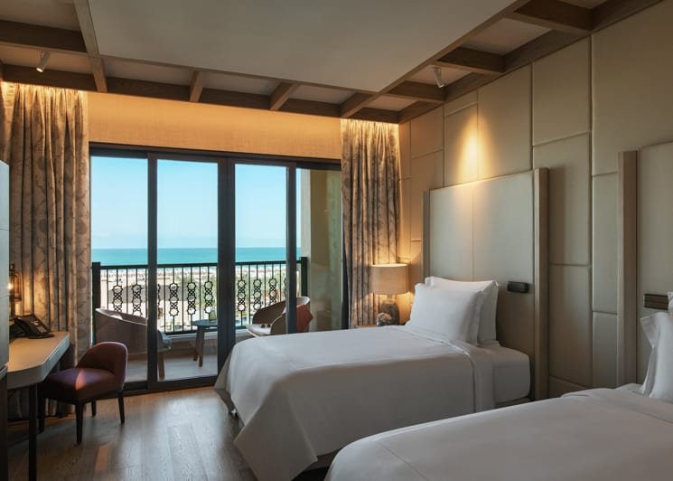 Saadiyat Suite   Twin Room