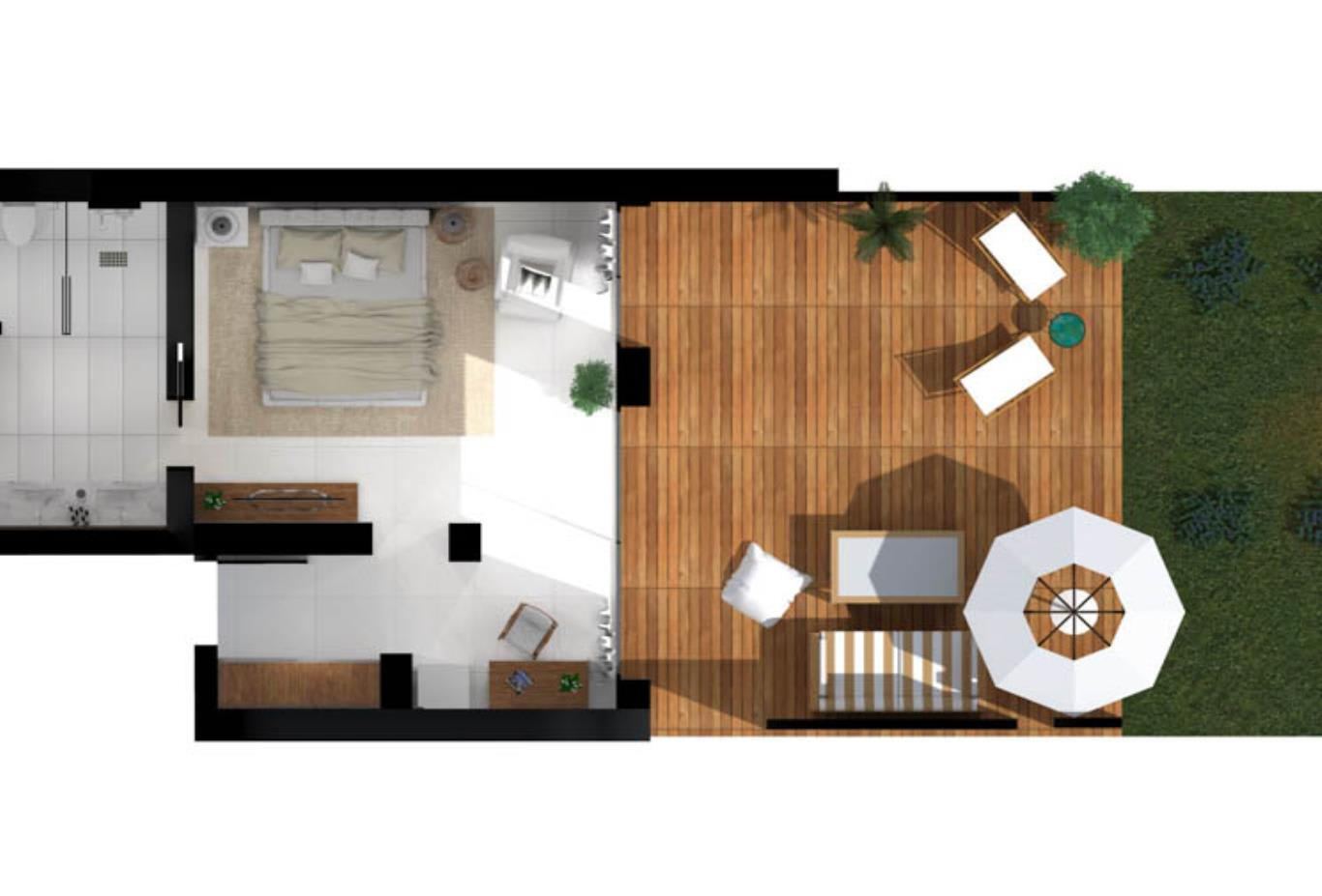 Pavilion Retreat Waterfront Floorplan