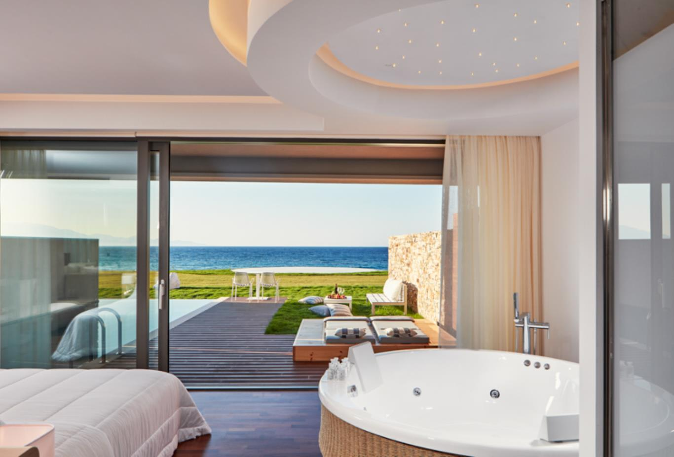 Deluxe Suite Sea View Jacuzzi