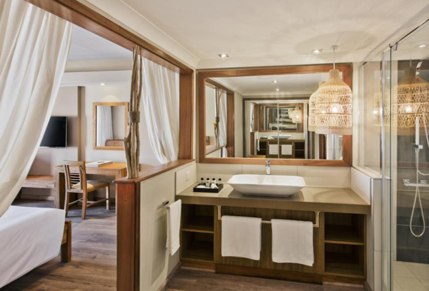 Prestige bathroom and bedroom