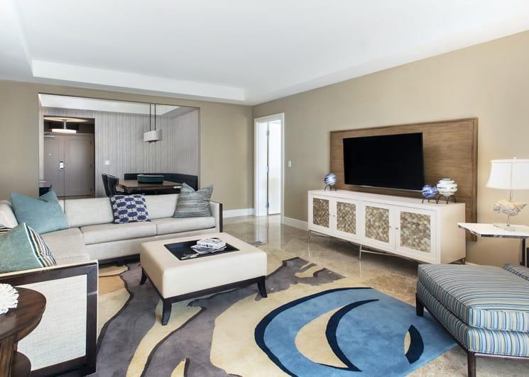 Presidential living room