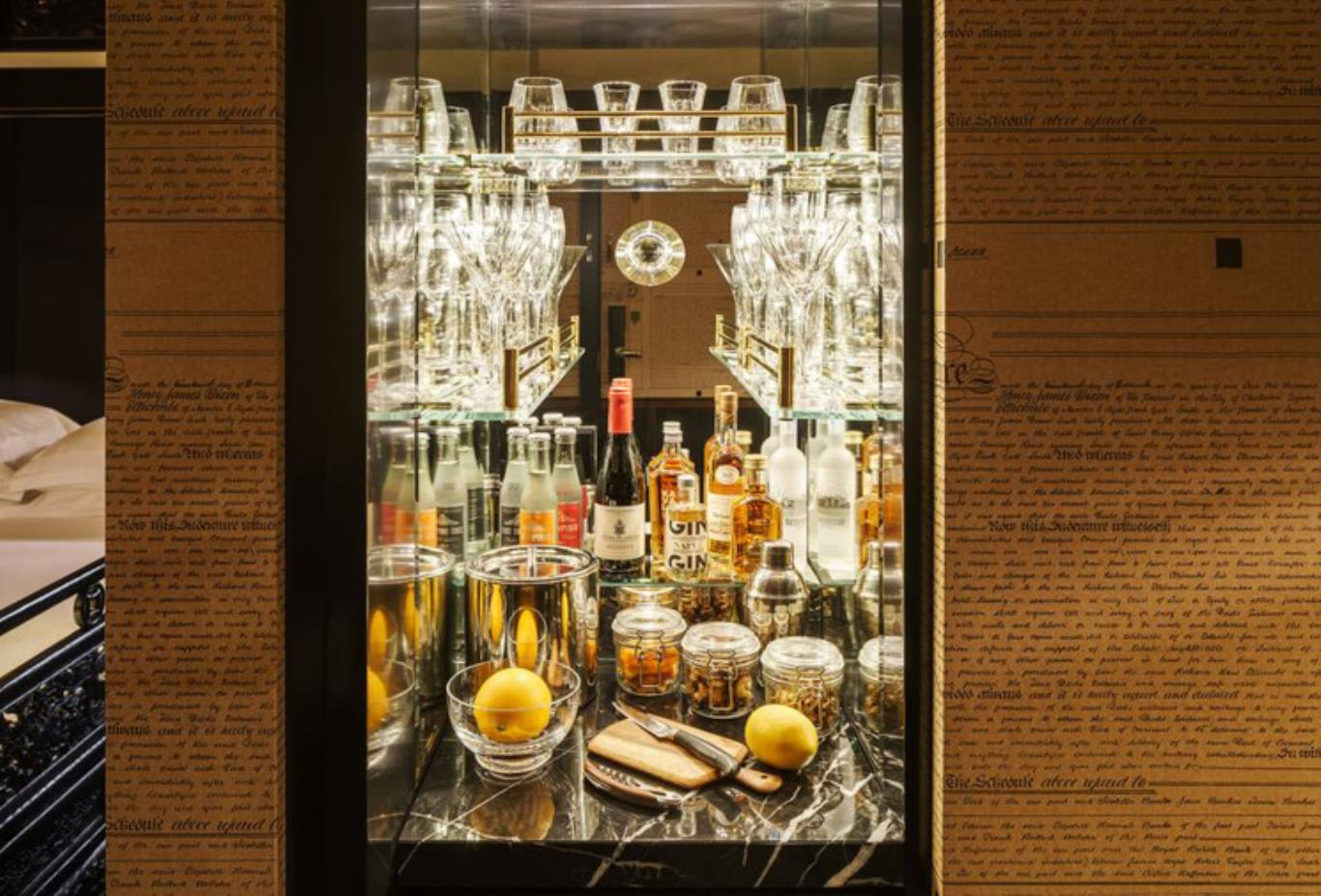 Nutmeg Room minibar