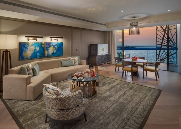 MODUB Premier Sea View Suite living room