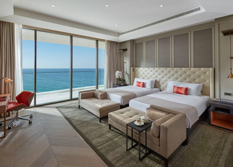Two Bedroom Sea View Suite Twin